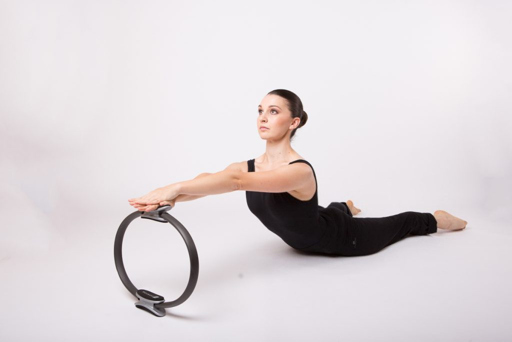 Pilates Frosinone - Breast stroke with ring