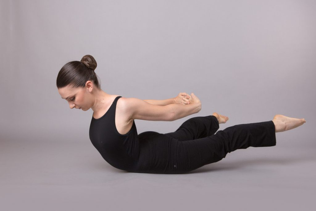 Pilates Frosinone - Double Leg Kick 02